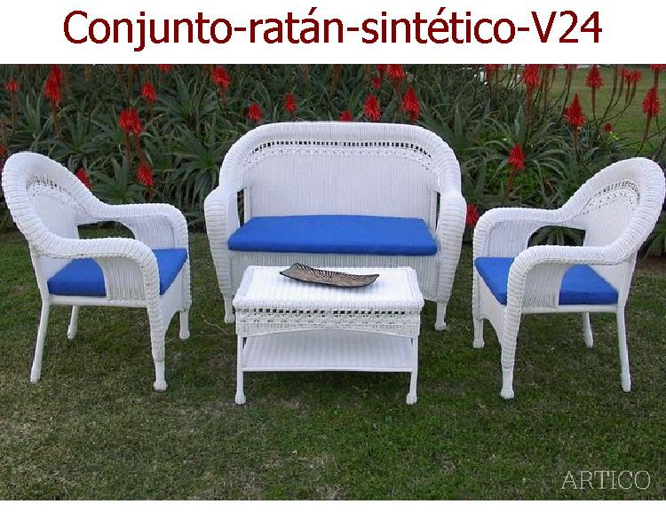 Muebles De Jardin Ratan. Un Porche Con Vistas Para Todo El Ao ...