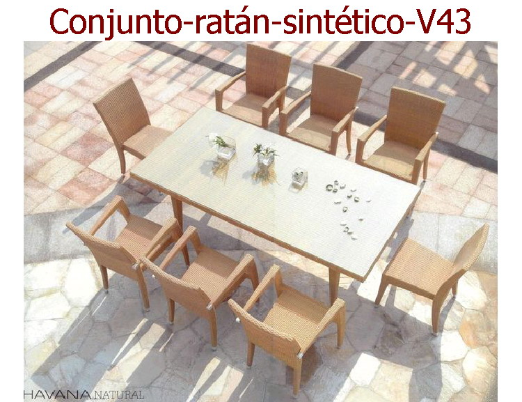 Muebles Rattan Jardin. Salas Muebles En Mimbre Rattan. Diseo De ...